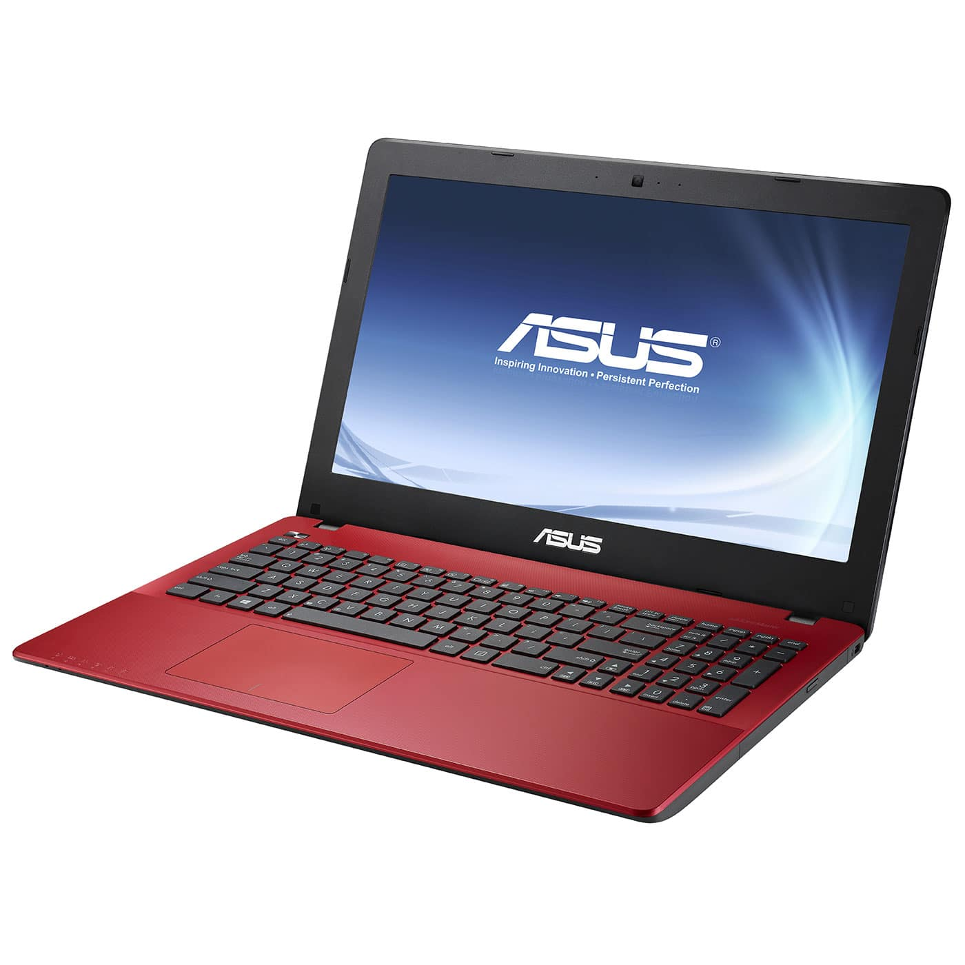 pc portable asus rouge