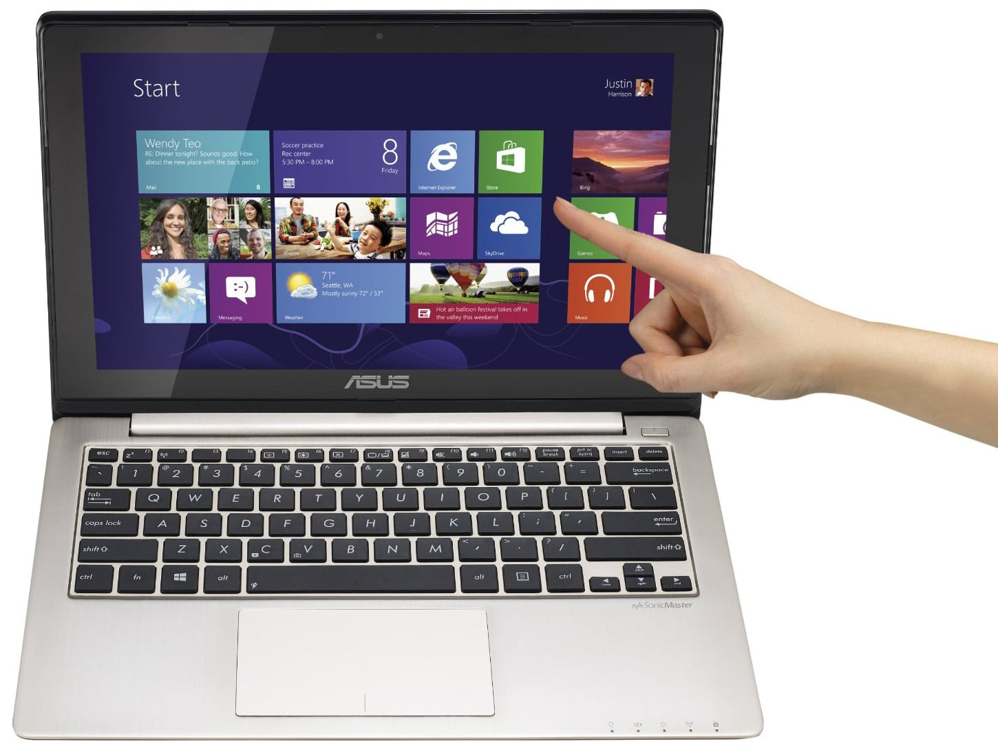 pc portable asus windows 8