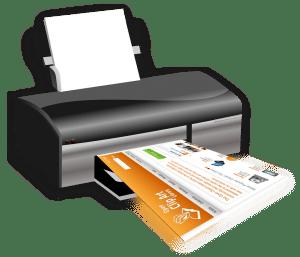 encombrement de votre imprimante